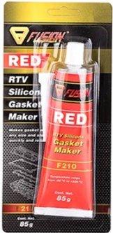 Силиконовый герметик Fusion F210 RTV Gasket Maker 85 г Red (FU210)