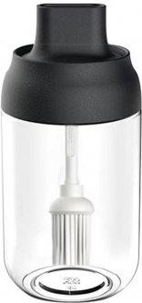 Емкость для хранения растительного масла Kitchenio с кисточкой 250 мл (2000992405553)