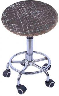 Чехол на круглый стул Supretto Красный (5870-0001) (2000100056585)