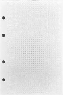 Блок бумаги BlankNote Белый в точку 24 х 16 см 120 л Точка (BN-PB-1)