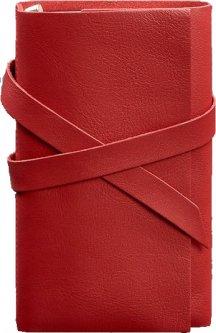 Блокнот BlankNote 1.0 Кожаный Красный 14 х 20 см 120 л (BN-SB-1-st-red)
