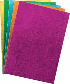 Набор самоклеющейся бумаги Centrum Metallic Eva Foam А4 5 цветов (88084)