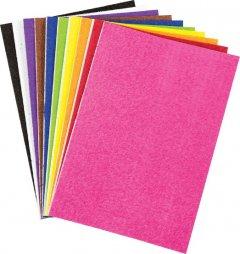 Набор самоклеющейся бумаги Centrum Plush Eva Foam А4 10 цветов (88082)