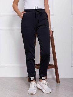 Спортивные штаны ISSA PLUS 12340 L Черные (issa2000686044242)