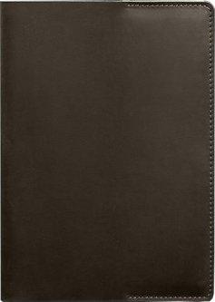 Обложка для блокнота BlankNote 6.0 Кожаная Темно-коричневая 22.5 х 14.5 см (BN-SB-6-o-mini)