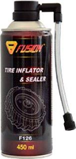 Герметик колес Fusion F126 TIRE INFLATOR&SEALER 450 мл (F126/450)