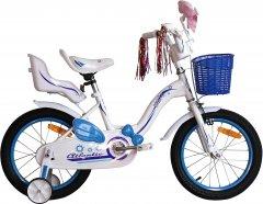 "Велосипед Atlantic Milky CS 16"" Белый/Синий (2010919624158)"