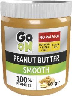 Арахисовая паста GO ON Nutrition Peanut butter smooth 500 г (5900617038289)