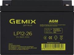 Аккумуляторная батарея Gemix LP12-26