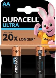 Щелочные батарейки Duracell Ultra Power AA 1.5В LR6 2 шт (5004803)(5000394058712)