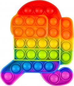 Игрушка антистресс вечная пупырка Pop It Амонг (2000992408103)