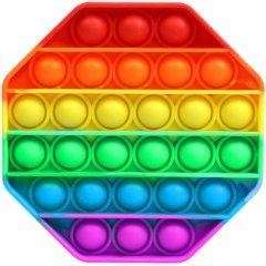 Игрушка антистресс вечная пупырка Pop It Восьмиугольник (2000992408196)
