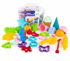 Набор для лепки Genio Kids Микс аксессуаров 32 шт (LEP06) (4814723008153)