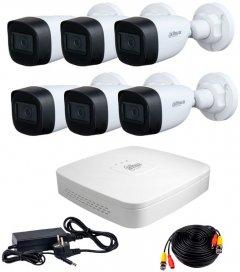 Комплект видеонаблюдения Dahua HDCVI-6W KIT