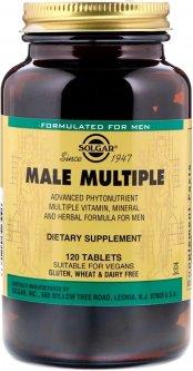 Мультивитамины Solgar для Мужчин, Male Multiple, 120 таблеток (33984012066)