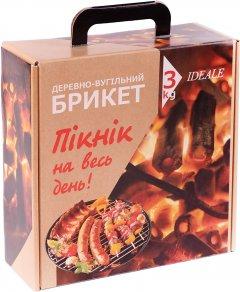 Брикет древесноугольный IDEALE 3 кг (4820236260018)