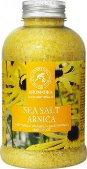 Соль морская для ванн Ароматика Арника Bath Salt Arnica 600 г (4820177023345)