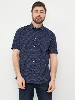 Рубашка Pierre Cardin 557134-71 XXL Navy/Wht Geo