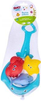 Набор игрушек для ванны Fancy Baby Веселая рыбалка (4814723007514)