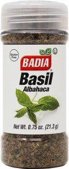Базилик Badia сушеный 21 г (033844002152)