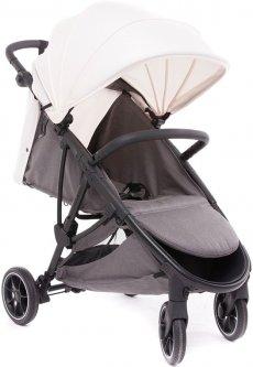 Прогулочная коляска Baby Monsters Alaska Black Marfil (черное шасси) (BMAK-10005_019)