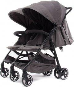 Прогулочная коляска для двойни Baby Monsters Kuki Twin Texas (черное шасси) (BMKT-10005_0TX)