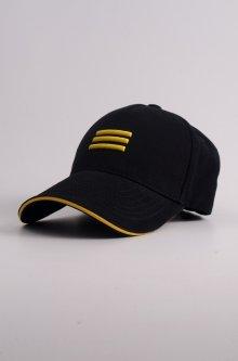 Кепка-бейсболка вышивка Валик KENT&AVER черно-желтый размер 57-58р