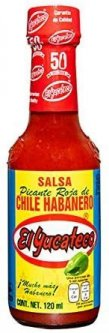 Пикантный соус чили El Yucateco Хабанера ред 120 мл (7501017660292)