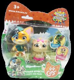 Игровой набор 44 Cats 2 фигурки Спалах и Пилу Суперсилы (34113) (4894386341132)