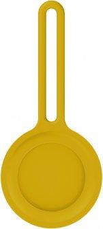 Чехол-брелок ArmorStandart для AirTag Silicone Long Loop Yellow (ARM58996)
