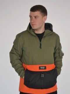Анорак Riccardo АМ-01 XХL (54) Оливково-оранжевый (ROZ6400145353)
