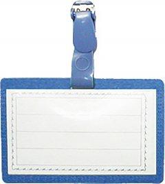 Набор бейджей Economix горизонтальные с зажимом 90x55 мм 10 шт Синий (E41402)