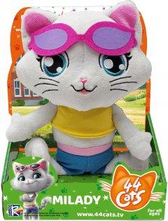 Мягкая игрушка 44 Cats Миледи с музыкой 20 см (34242) (4894386342429)