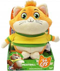Мягкая игрушка 44 Cats Фрикадель с музыкой 20 см (34244) (4894386342443)