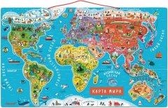 Магнитная карта мира Janod русский язык (J05483) (3700217354831)