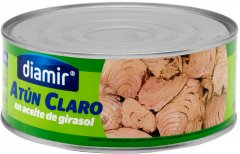 Тунец Diamir в подсолнечном масле 1 кг (8436007952011)