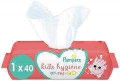 Детские Влажные Салфетки Pampers Kids Hygiene On-the-go 40 шт. (8006540222089)