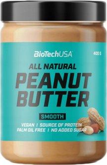 Заменитель питания BioTech Peanut Butter 400 г Гладкий (5999076235100)