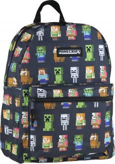 Рюкзак подростковый Minecraft Minecraft Multi Character 40x30x4 см 20 л (502020201)