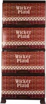 Комод Violet House 0352 94 х 46 х 38 см Wickir Plaid (0352 WICKIR PLAID)