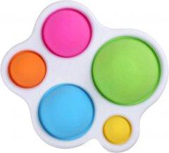 Игрушка антистресс Pop It Simple Dimple Облако (2000992408387)