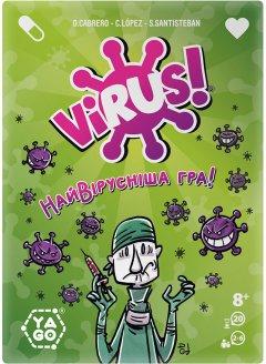 Настольная игра Yago Virus (80987)