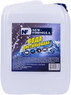 Вода дистиллированная NEW FORMULA 10 л (4820215591782)