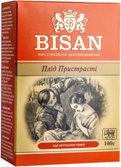 Чай крупнолистовой Bisan Плод Страсти 100 г (4791007012641)