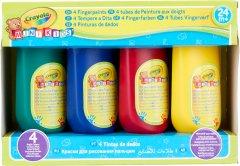 Набор пальчиковых красок Crayola Mini Kids Washable (256455.106) (0071662114763)