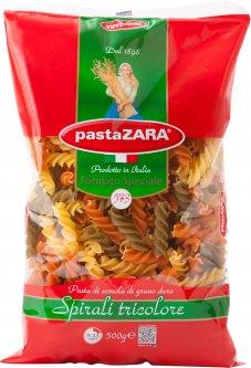 Упаковка макарон Pasta Zara Spirali Tricolore Спирали цветные 500 г х 4 шт (8004350030573_5004)