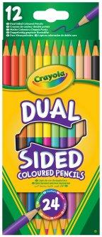 Набор карандашей двусторонних Crayola 12 шт (256356.024) (0071662661007)