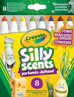 Набор фломастеров Crayola Silly Scents Шутник с ароматом 8 шт (256346.012) (0071662182670)