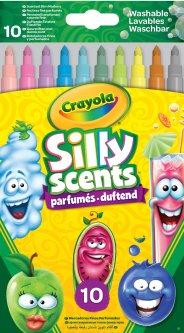 Набор фломастеров Crayola Silly Scents Washable Тонкая линия с ароматом 10 шт (256340.024) (0071662650711)