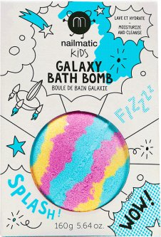 Бомбочка для ванной Nailmatic Галактика 160 г (701GALAXYB) (3760229893544)